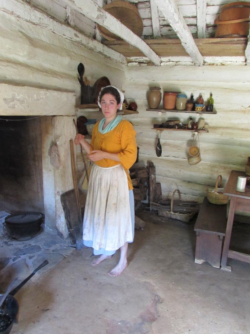 00000147  Lady  on  the  Farm  McLean  Virginia