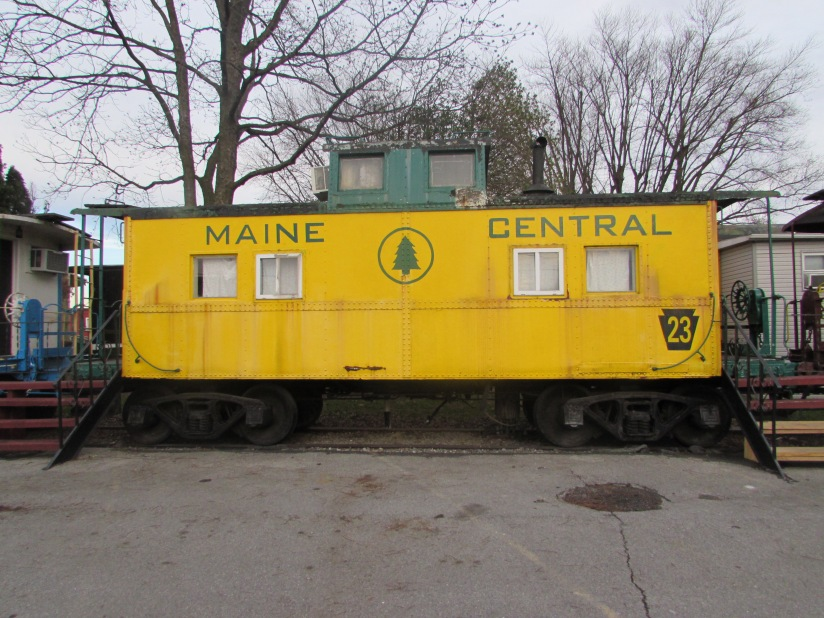 Maine Central Caboose Ronks Pennsylvania