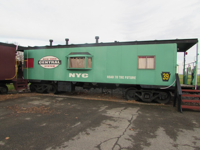 New York Central System Caboose Ronks Pennsylvania