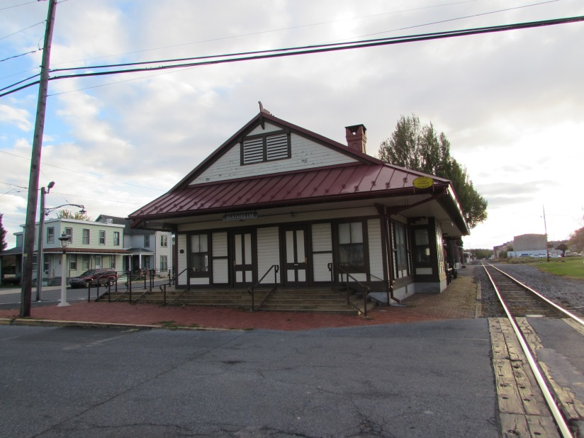Old Train Station Manheim Pennsylvania