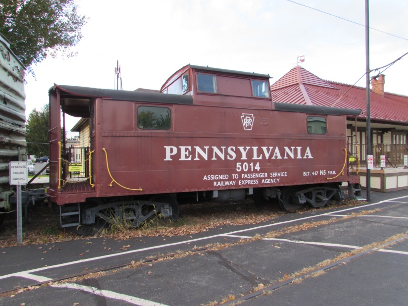 Pennsylvania Railroad Caboose Manheim Pennsylvania