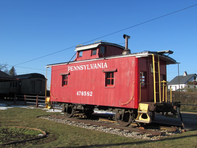 Pennsylvania Railroad Caboose New Oxford Pennsylvania