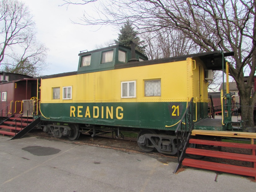 Reading Caboose Ronks Pennsylvania