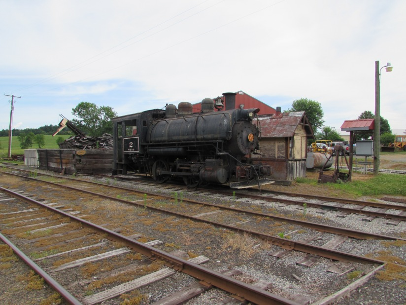 Number 2 WK&S Railroad Kempton Pennsylvania