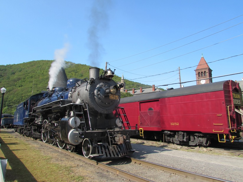 Number 425 Lehigh Valley Railroad Jim Thorpe Pennsylvania