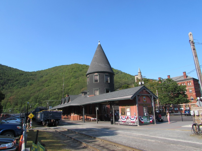 Old Jersey Central Depot Jim Thorpe Pennsylvania