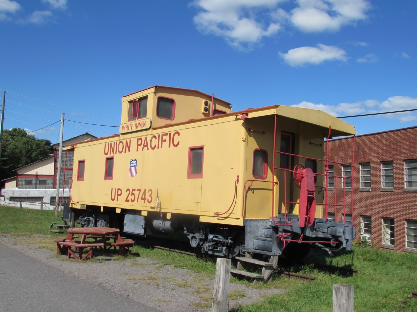 Union Pacific Caboose White Haven Pennsylvania