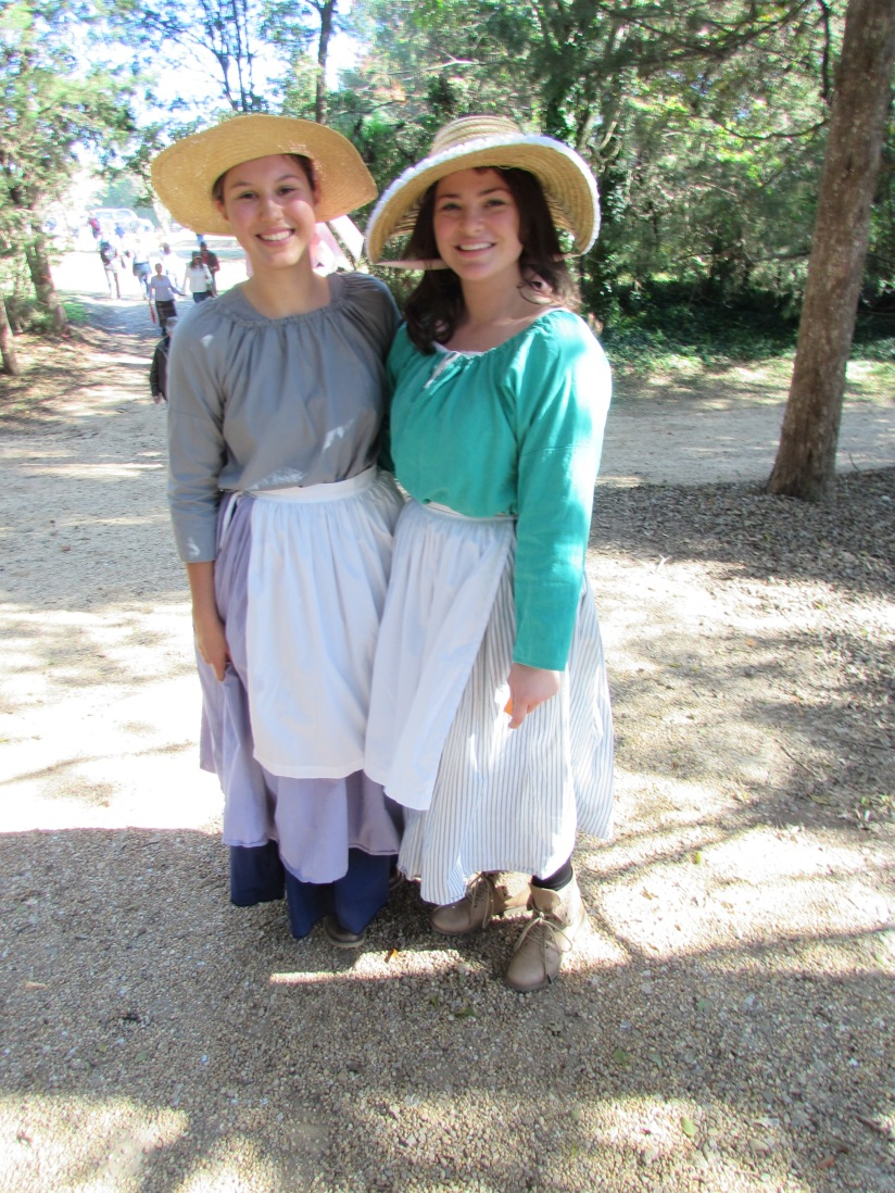 Ladies at the Berkeley Plantation Charles City Virginia