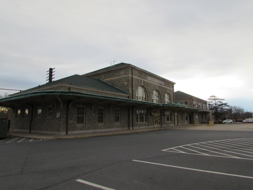 Old Train Station Pottstown Pennsylvania