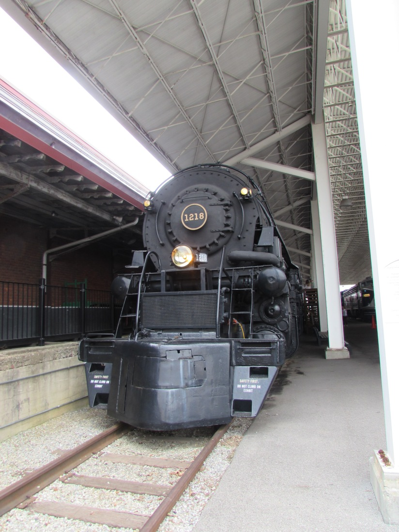 N&W 1218 Roanoke Virginia