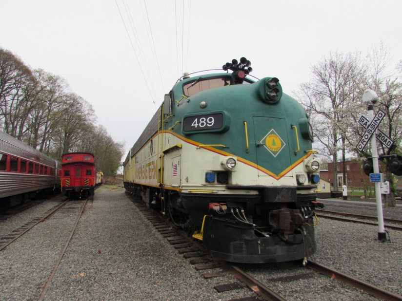 Maine and Eastern Locomotive Whippany New Jersey