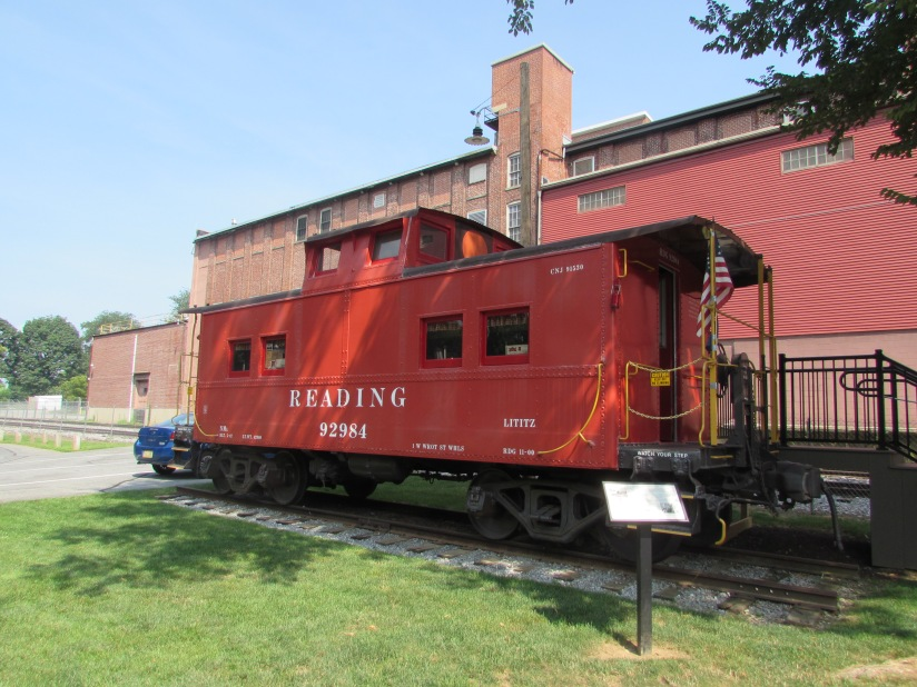 Reading Caboose Lititz Pennsylvania