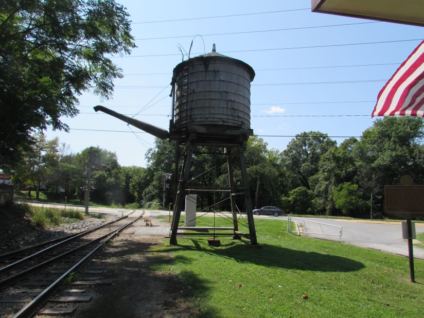 Watertower Wilmington and Western Railroad Wilmington Delaware