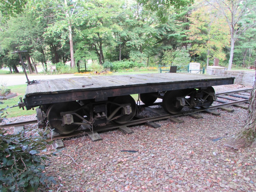 Old Logging Car Drake Well Park Titusville Pennsylvania