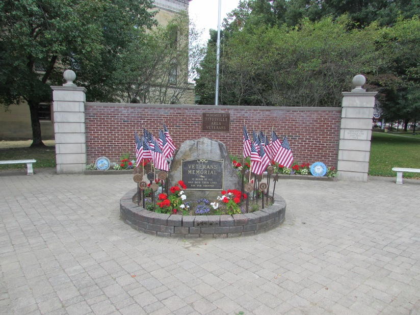 Veterans Memorial Titusville Pennsylvania