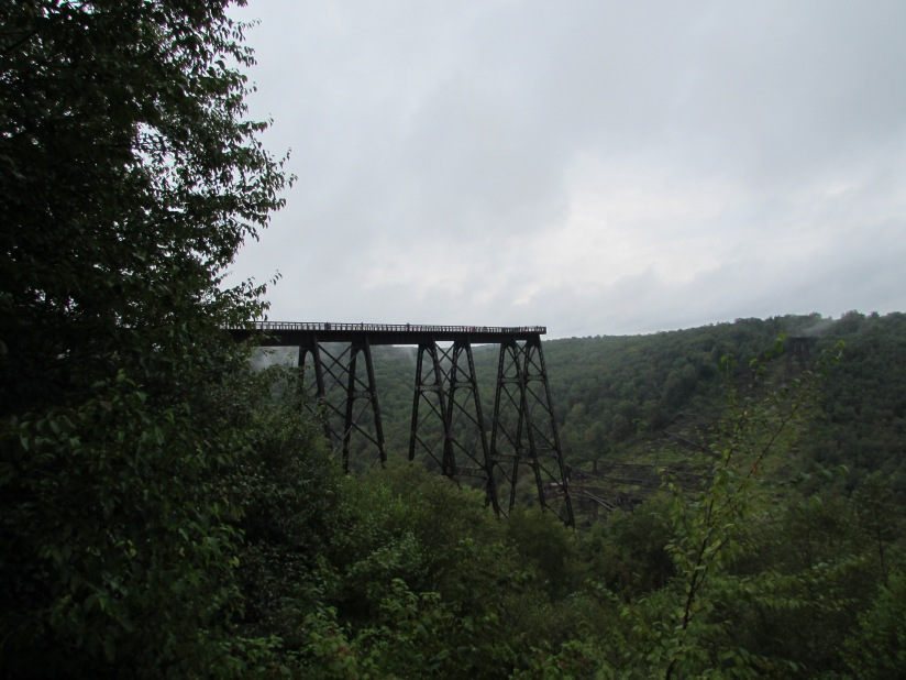 Kinzua Bridge Skywalk Mount Jewett Pennsylvania