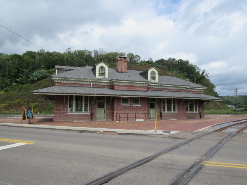 Old Train Station Ridgway Pennsylvania