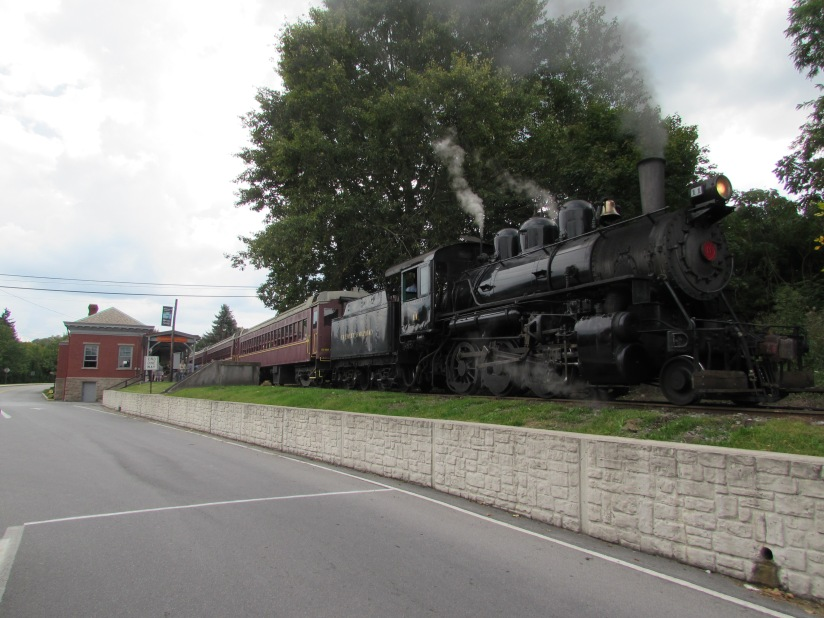 The Everett Railroad at Roaring Spring Pennsylvania