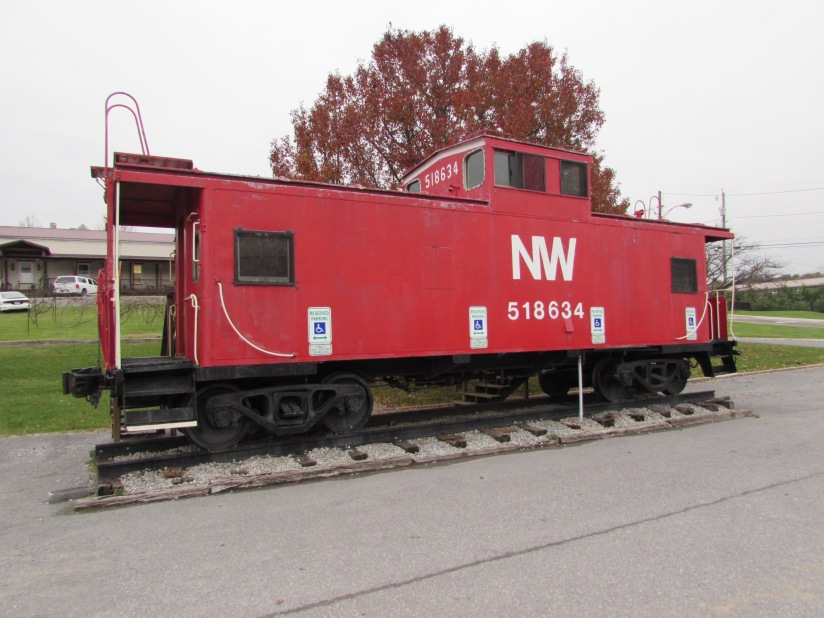 Norfolk and Western Caboose Rural Retreat Virginia