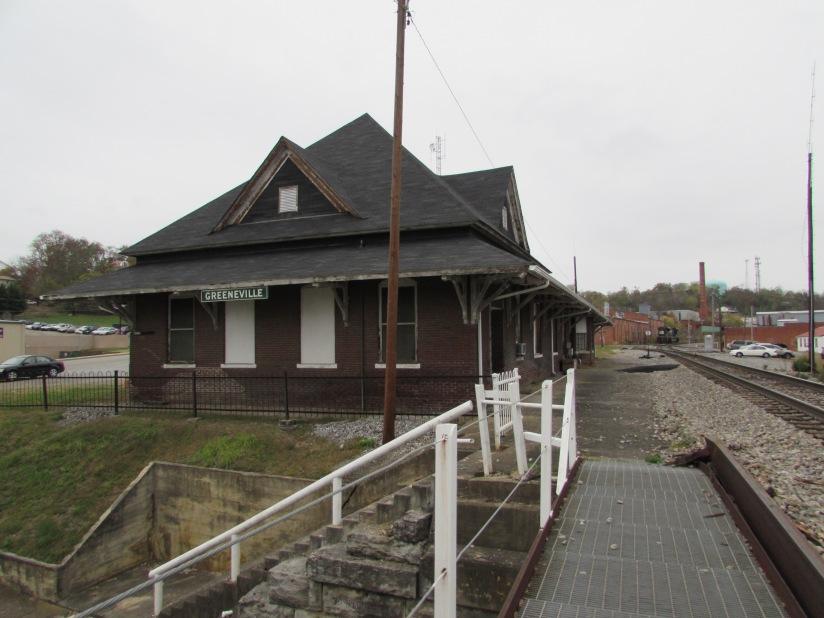 Old Train Station Greenville Tennessee