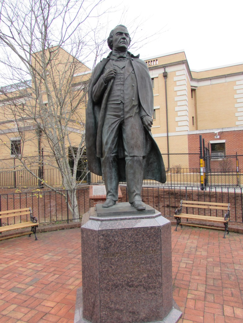 Statue of Andrew Johnson Greenville Tennnessee
