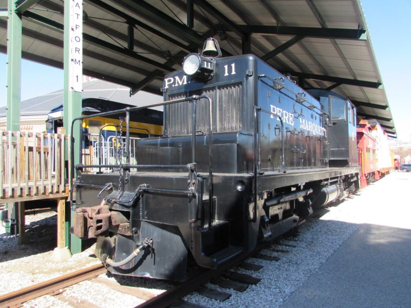 Pere Marquette PM 11 B&O Museum Baltimore Maryland