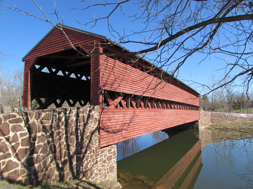 Sachs Covered Bridge Gettysburg Pennsylvania