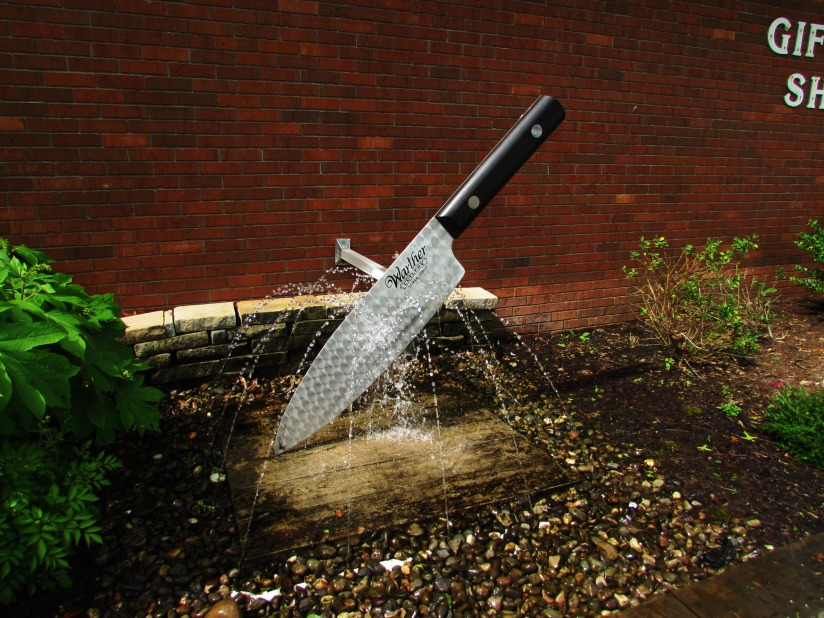Knife Fountain Warther Museum Dover Ohio