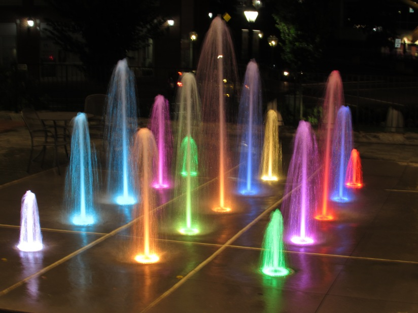 Colors of the Fountain Fairfax Virginia