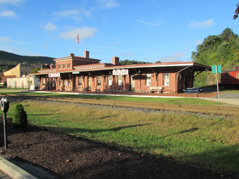 Old Train Station Tamaqua Pennsylvania