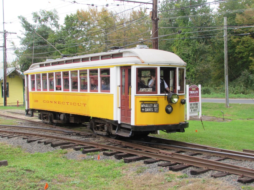 Trolley 1326 Connecticut Trolley Museum East Windsor Connecticut