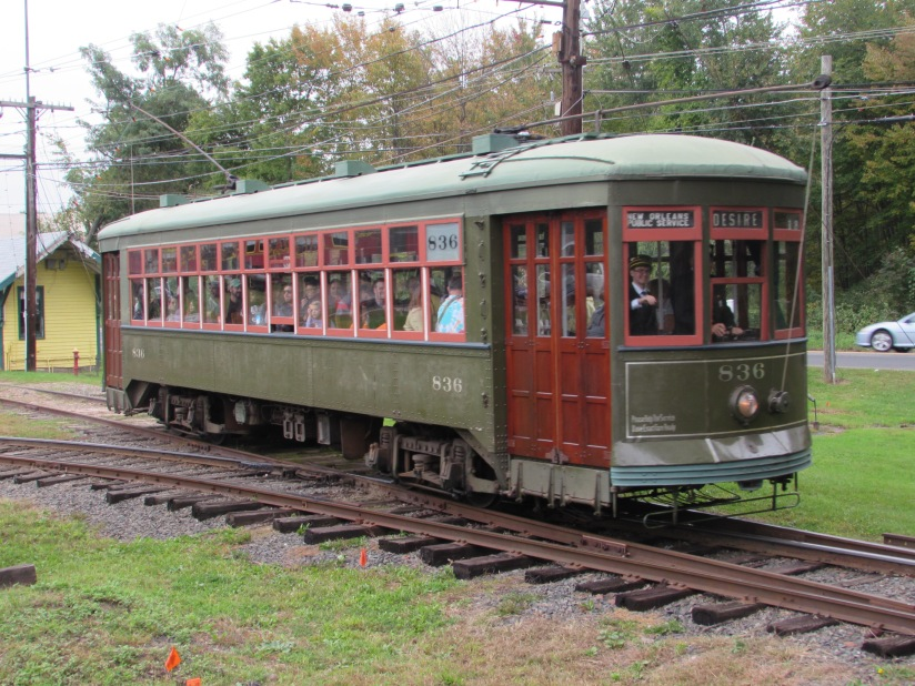 Trolley 836 Connecticut Trolley Museum East Windsor Connecticut