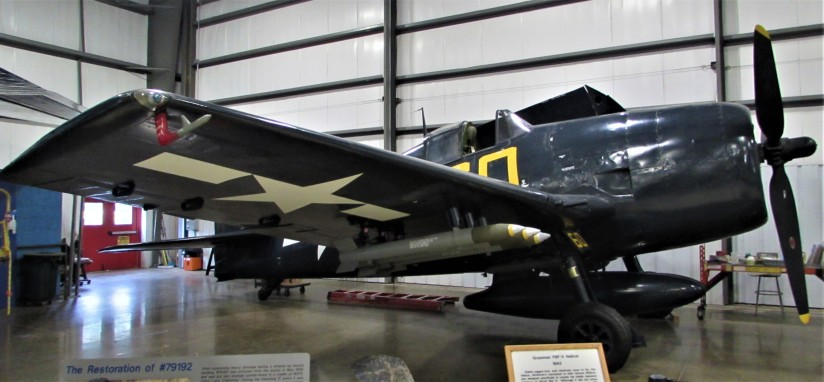 Grumman F6F-5 Hellcat New England Air Museum Windsor Locks Connecticut