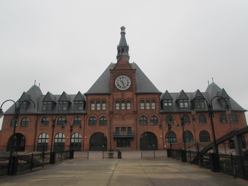 Old Central Railroad of New Jersey Terminal Jersey City New Jersey