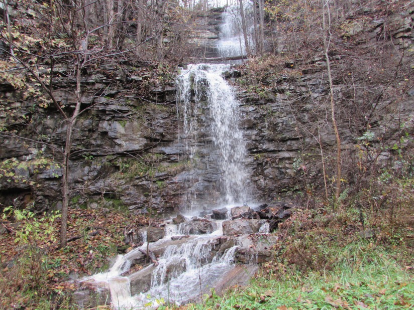 Waterfall near Hinton West Virginia