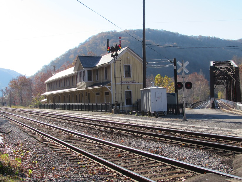 Old Train Station Thurmond West Virginia
