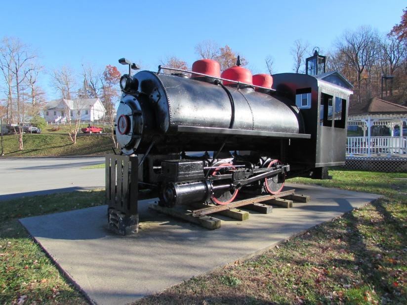 Steam Locomotive Exhibition Mine Beckley West Virginia