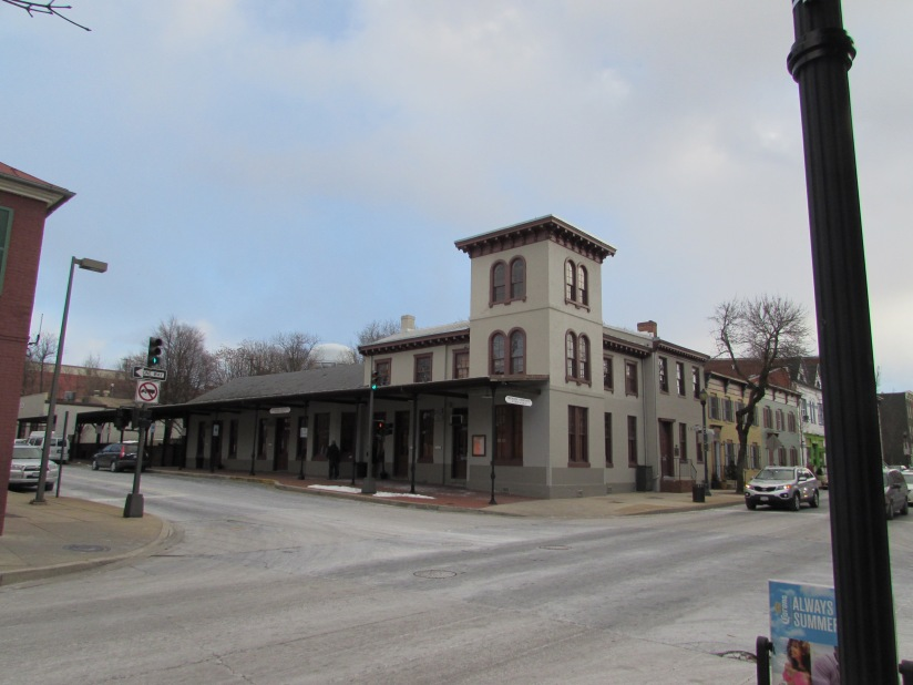 Old Train Station Frederick Maryland