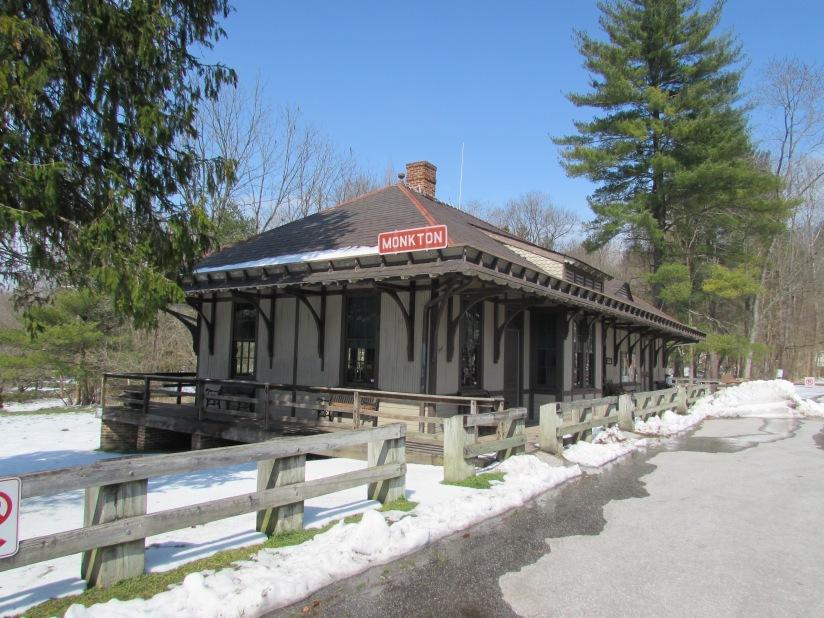 Old Monkton Station Monkton Maryland
