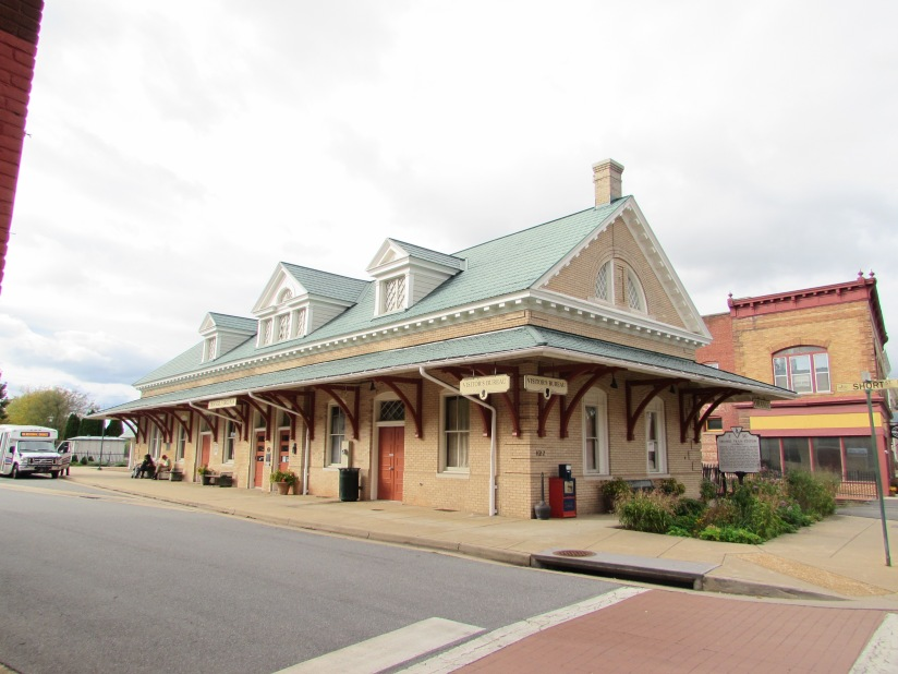 Old Train Depot Orange Virginia