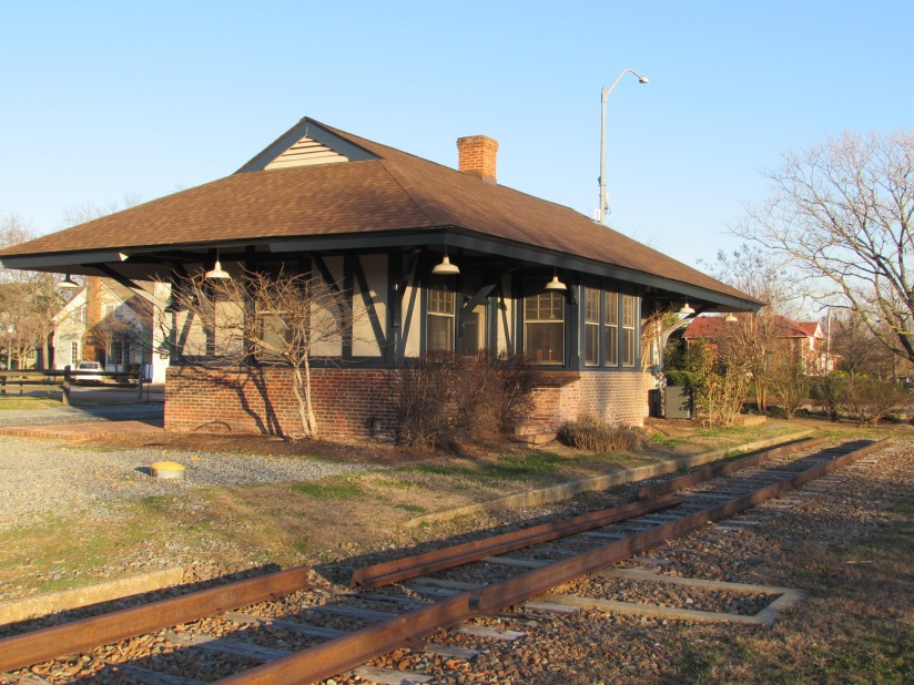 Old Train Station Chestertown Maryland