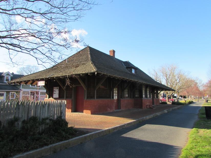 Old Train Station Easton Maryland