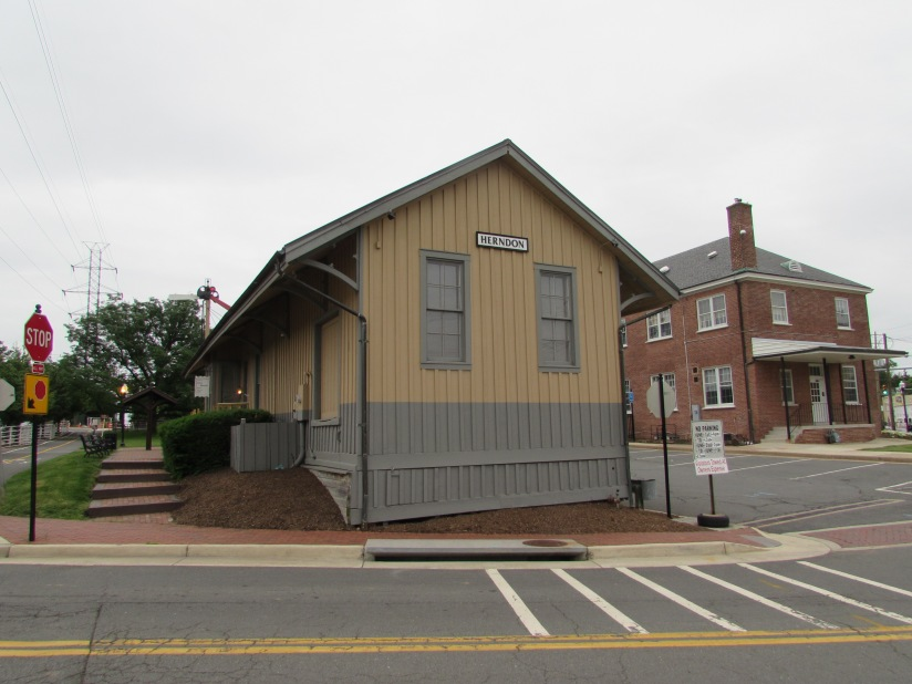 Old Train Station Herndon Virginia